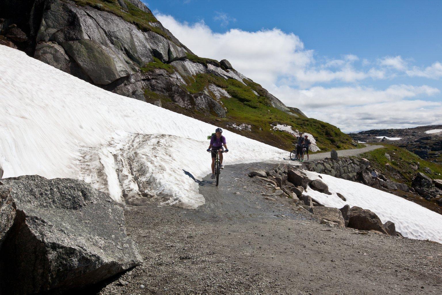 Snø Rallarvegen